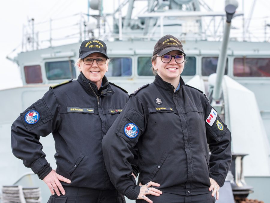 Like mother, like daughter HMCS_Toronto_mother_and_daughter-900x676