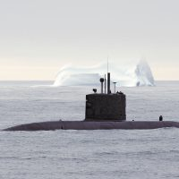 HMCS Corner Brook on Arctic patrol during Operation Nanook in 2007. Photo by Cplc Blake Rodgers