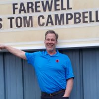 Tom Campbell proves never too old to join Navy