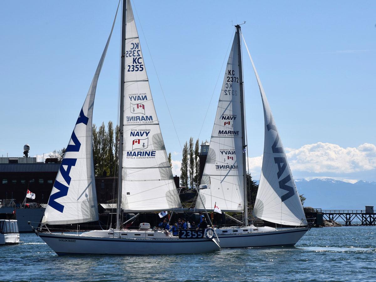 Navy returns to Van Isle 360 yacht race