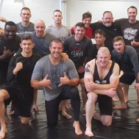 In Photos: Grapplers Training for Competition