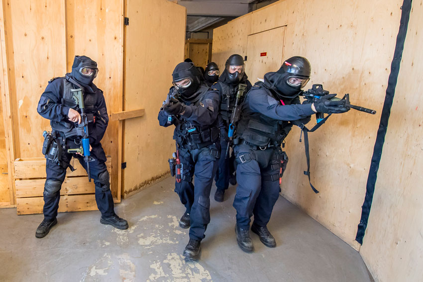 Imagery captured during the Naval Boarding Party Course Graduation at NAD in Halifax, Nova Scotia, Feb. 20. Photo by Leading Seaman John Iglesias, Canadian Armed Forces