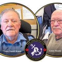 Nelles Block Commissionaires, Cmre David Brand and Cmre Howie Becker