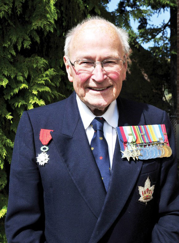 Retired Royal Canadian Navy Commander Peter Chance