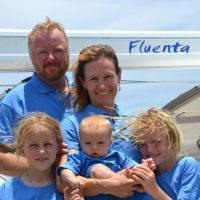 LCol (Retired) Max Shaw, Maj (Retired) Elizabeth Brown-Shaw, and their children Victoria, Benjamin and Johnathan.