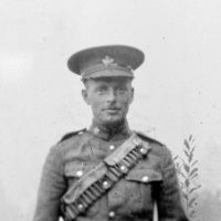 Pte Thomas Wheatley Kilby who was killed in action in France, March 27, 1917.
