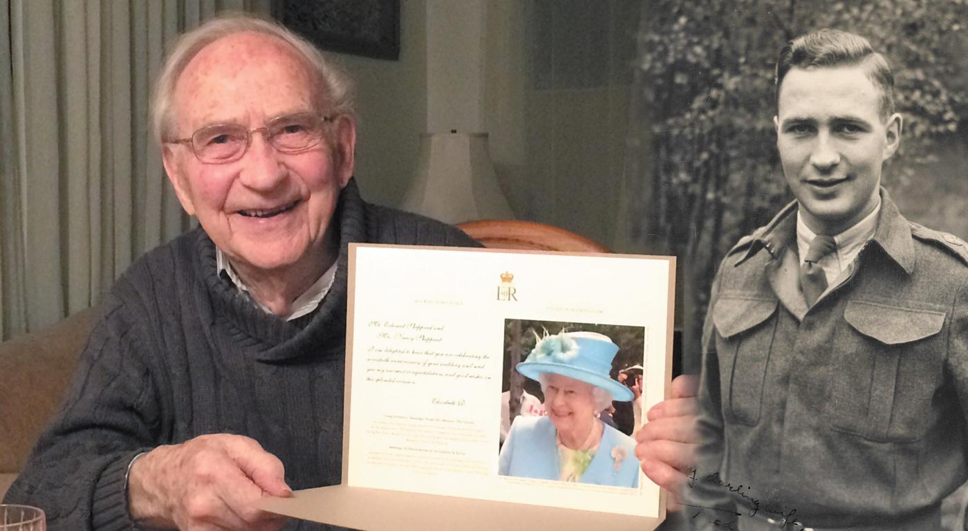 Second World War veteran Ted Sheppard