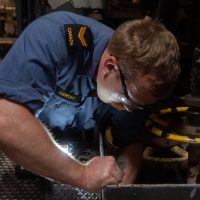 To move and float: The ingenuity of HMCS Winnipeg's MSE department