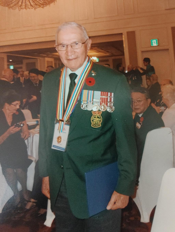 PO1 (Retired) Victor Flett, 2012
