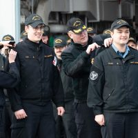 "HMCS Regina stewards become ""Military-issued"" best friends"