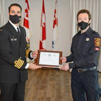 Firefighter's effort results in better health protection