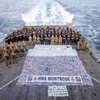 HMS Montrose seizes third drug haul in five weeks