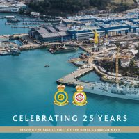 FMF Cape Breton and Cape Scott celebrate 25 years serving the Royal Canadian Navy's Pacific and Atlantic Fleets