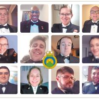 HMCS Malahat holds first-ever Virtual Training Mess Dinner