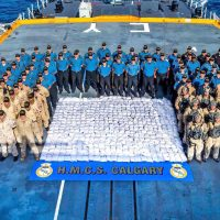 Royal Canadian Navy sets heroin seizure record in busts