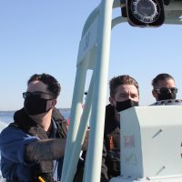 HMCS Malahat's newest recruits enjoy perfect weather for training