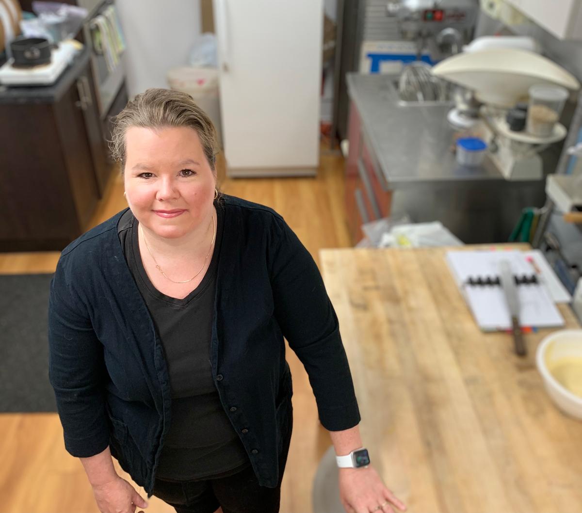 Jennifer Kingston, owner of Kingston Cake Craft and Bakery.