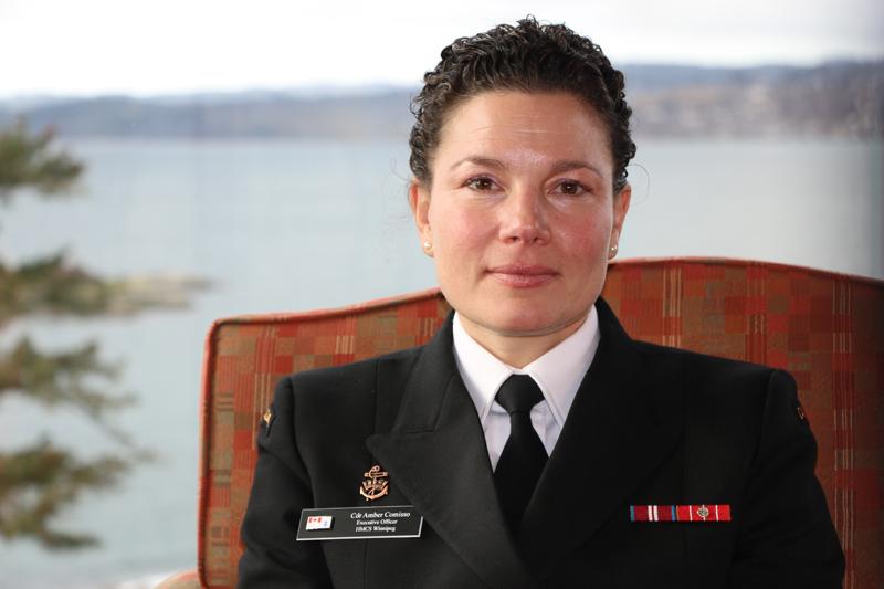 Commander Amber Comisso