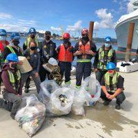 Esquimalt Harbour cleanup for World Ocean's Day