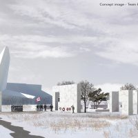 Five proposed designs for the National Monument to Canada's Mission in Afghanistan