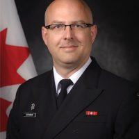 Capt(N) Jeff Hutchinson, Base Commander