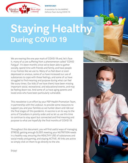 Quarantine Newsletter Winter 2021
