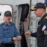 Winnipeg sailor gives ship a positive start for deployment