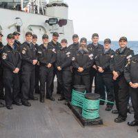 HMCS Winnipeg's Sentinels