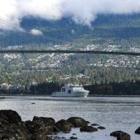 HMCS Harry DeWolf completes maiden voyage through the Northwest Passage