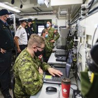 Joint Interface Control students thrive in adverse environment